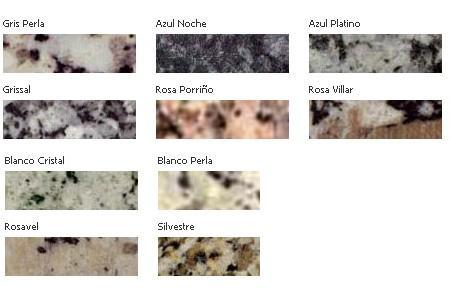 Hogar decoraci n y dise o catalogos for Granitos nacionales e importados