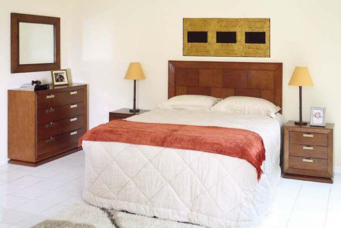 dormitorio contemporaneo de madera maciza dormitorios matrimoniales deco dormitorios