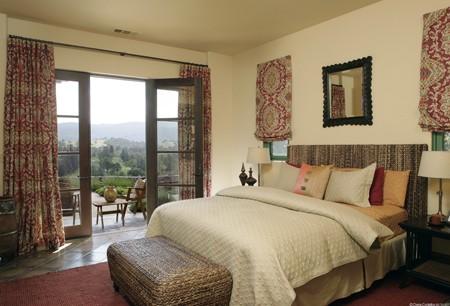 Ambientaciones matrimoniales deco dormitorios - Muebles estilo mediterraneo ...