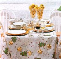 Modelos de mesas navide as de todos los colores fotos for Imagenes de mesas navidenas