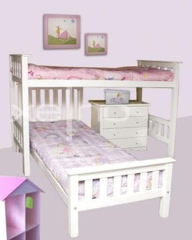 Dormitorios infantiles juveniles camas dobles esquineros deco dormitorios - Dormitorios infantiles dobles ...