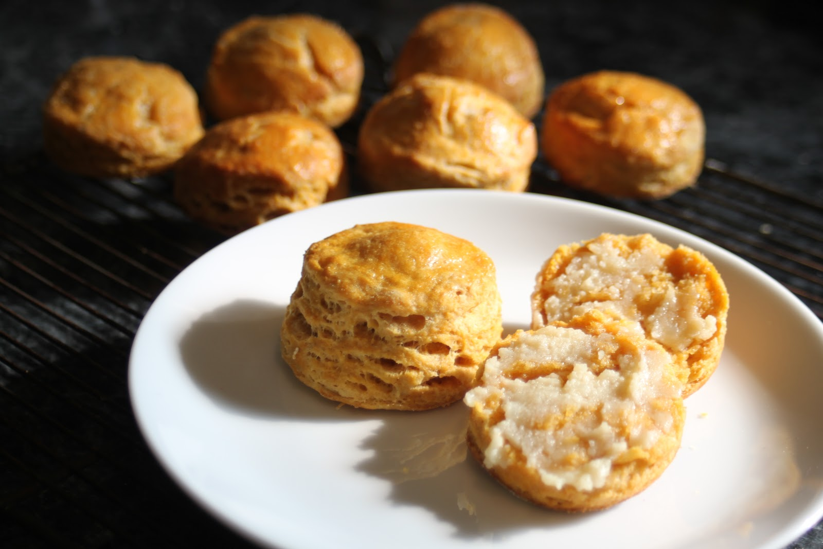 ... : Thanksgiving Inspiration - Sweet Potato Biscuits with Maple Butter