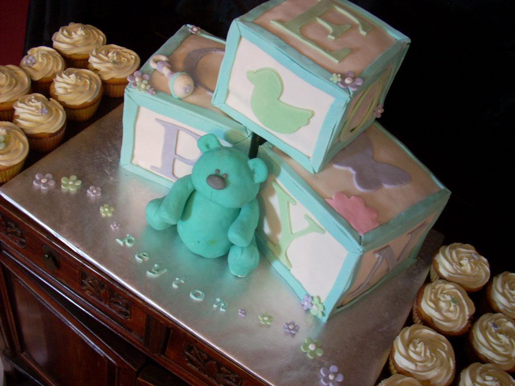 Baby Block Cake Images : ZacO Cakes: Baby Blocks Cake