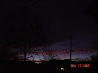 Christmas 2008 dawn