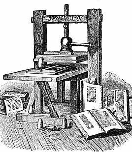 the life of johaness gutenburg during the renaissance era A printing press is a device for applying pressure to an in renaissance europe, the arrival of mechanical movable type printing introduced the era of mass.