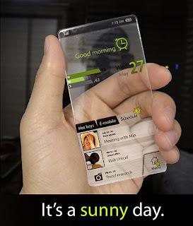 window handphone