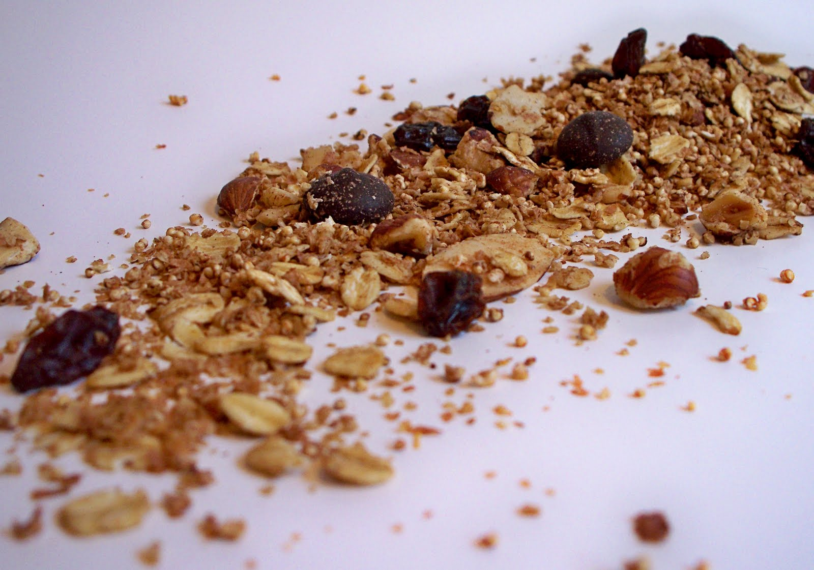 ... Will Kill You: Nutty Amaranth Granola - The best granola ever
