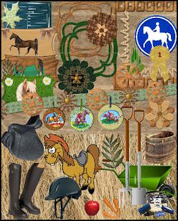 {Kits Digitais} Fazenda, Fazendinha - Página 3 Horse+Passionzip