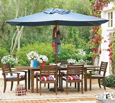 semsiye+ve+bahce+masas%C4%B1 Dış mekanlar için bahçe mobilyaları