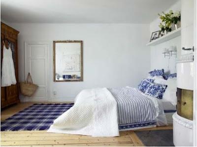 mavi+beyaz+yatak+odas%C4%B1 Dekorasyonda mavi beyaz