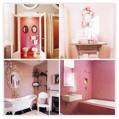 pembe+banyolar Dekorasyonda doğru renk seçimi
