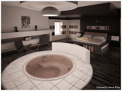 yatakodalarC4B1modern1 - Renk renk yatak odalar�