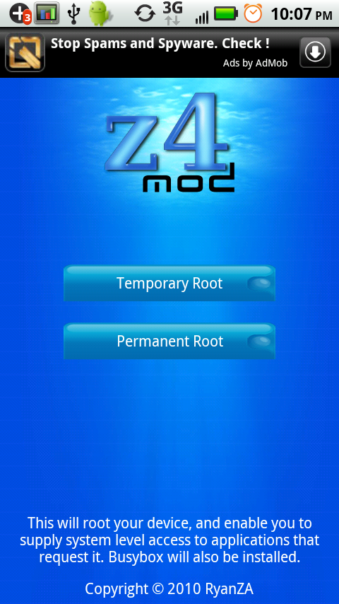 02 z4mod z4roottemporaryroot permanentroot