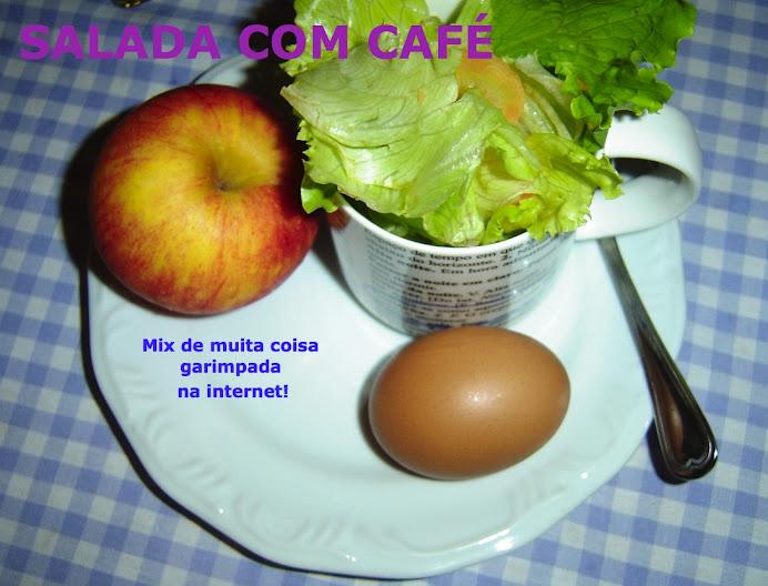 Salada com Café