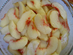 Peaches for cobbler.