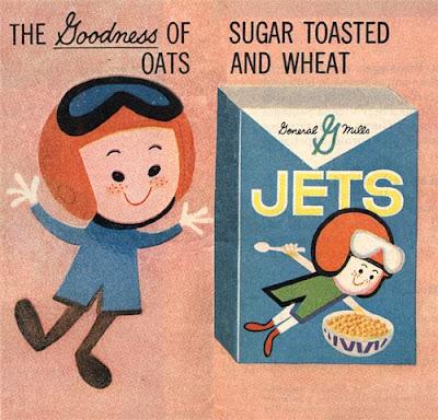 vintage cereal box