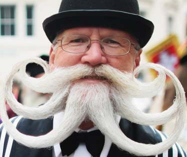 Great Moustaches and Moustache Types ~ Now That's Nifty