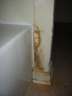 Bathroom Stain Looks Like Jesus