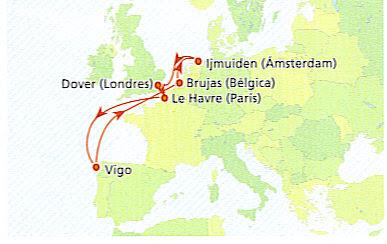 Cruceros desde Vigo