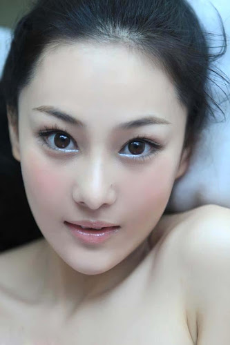 Foto Zhang Xin yu Beautiful Face Model and Artis China