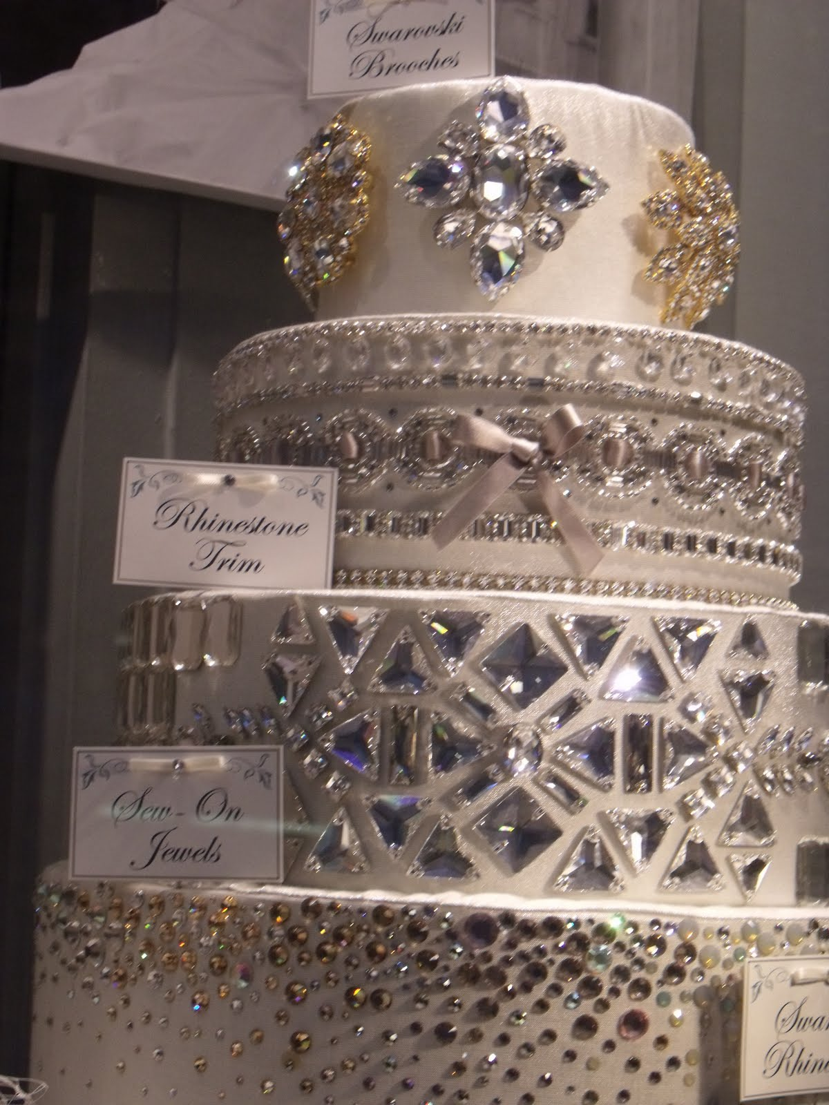 honey living four tiers of sparkle