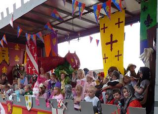 St Wilfrid's School get medieval
