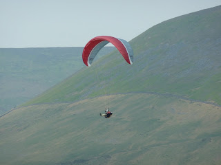 Paraglider and Fairsnape Fell