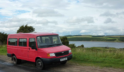 Old Post Bus by Derwent Reservoir