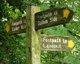 Public Footpaths Signs