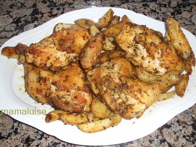 Mamaluise en lacocina pollo al horno con especias caj n for Maneras de preparar pollo