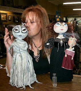 primitive folk art dolls