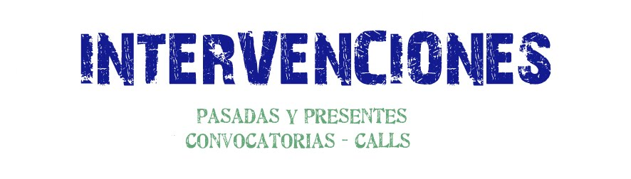 Intervenciones / Convocatorias
