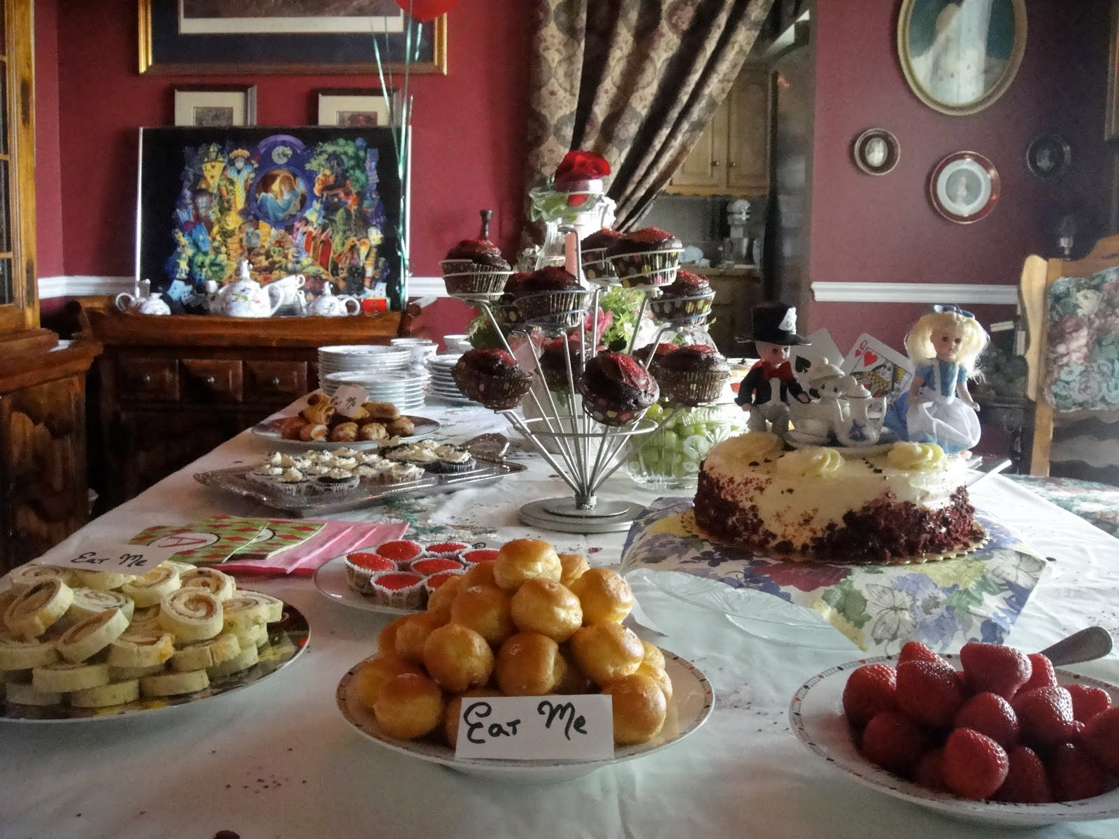 swell an alice in wonderland inspired baby shower or any party