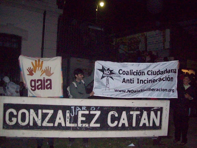 Reunión anual de la Coalición Ciudadana Anti-incineración 2010