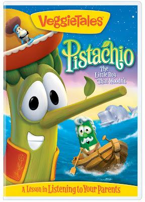Veggietales Pistachio The Little Boy That Woodnt