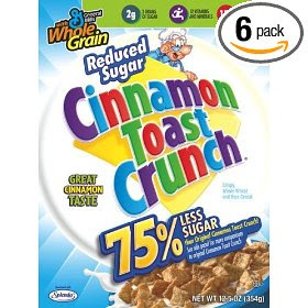 less sugar cinnamon toast crunch