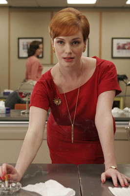 Christina Hendricks @ marielscastle.blogspot.com