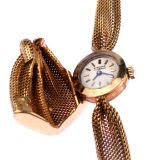 18kt gold woven 1940's watch @ máriel's castle