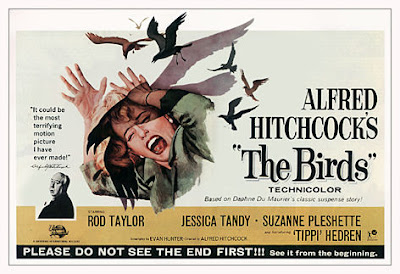 Hitchcock The Birds Poster @ Máriel's Castle