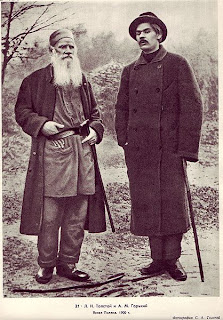 Gorky and Tolstoy