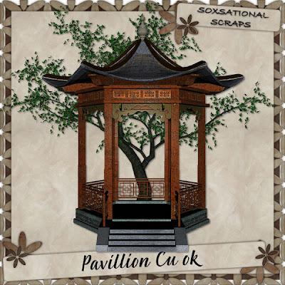 Pavillion & Tree - By: Soxsational Scraps TW-Pav+P