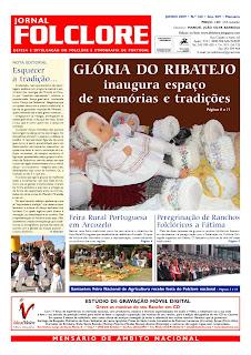 JORNAL FOLCLORE - Edições sobre a Glória