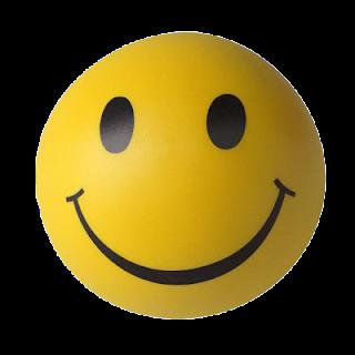 carita feliz regalo amarilla