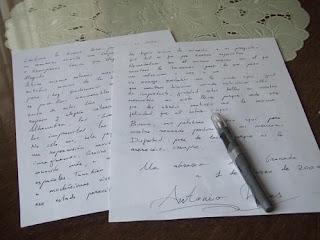 carta amigos alemanes