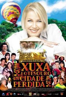 [Filmografía - Globo filmes] Xuxa e o Tesouro da Cidade Perdida (2004) Xuxa-e-o-tesouro-poster01