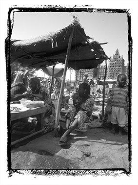 Un día de mercado Mopti (Malí)