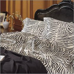 Scent-Sation zebra bedding