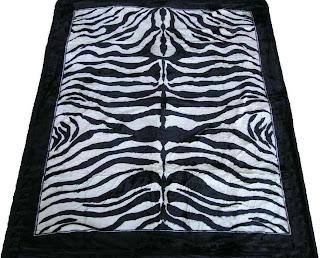 zebra blankets