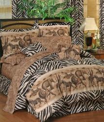 zebra bedding comforter