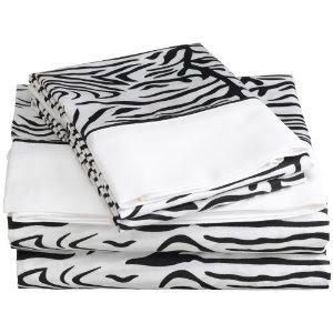 Regal zebra sheets